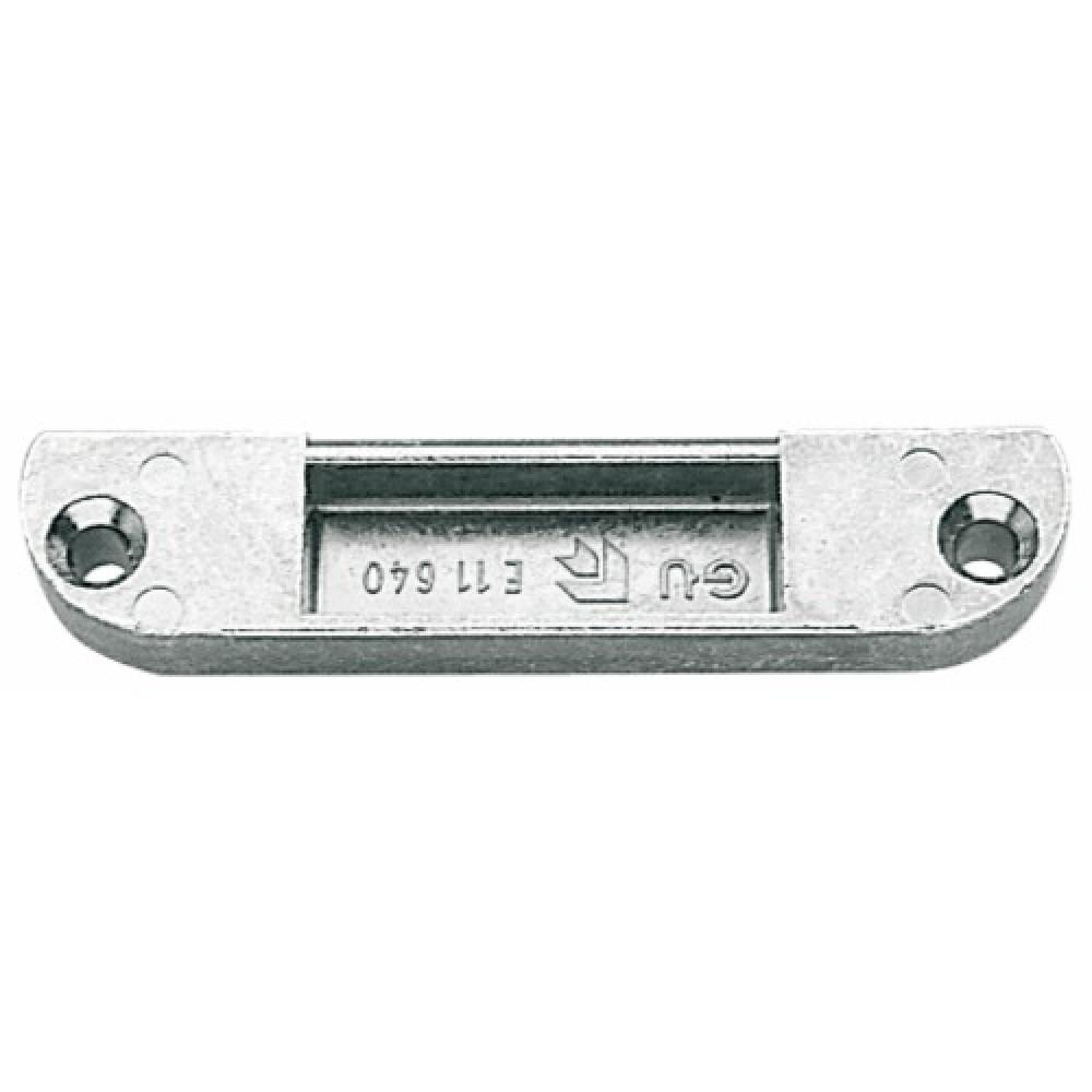 G che de p ne 1 2 tour pour cr mone de porte fen tre bois t ti re de 18 mm ferco bricozor - Serrure porte fenetre ...