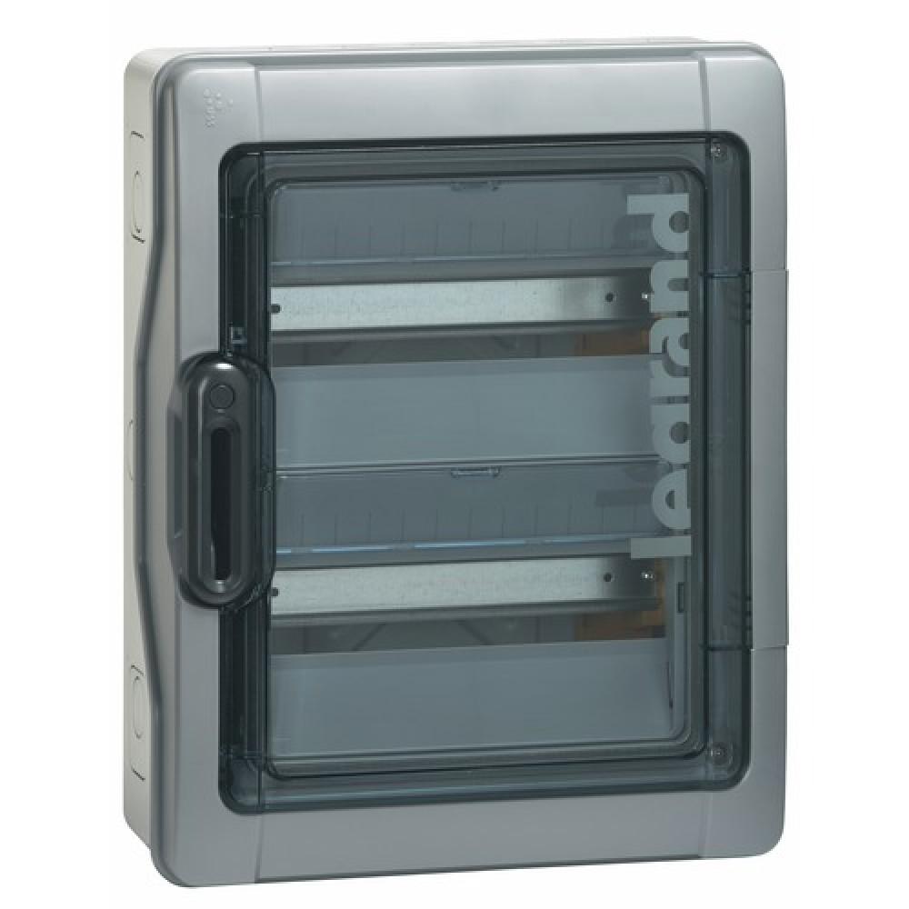Coffret électrique étanche - 2x18 Modules - 2 Rangées - Plexo 3 LEGRAND