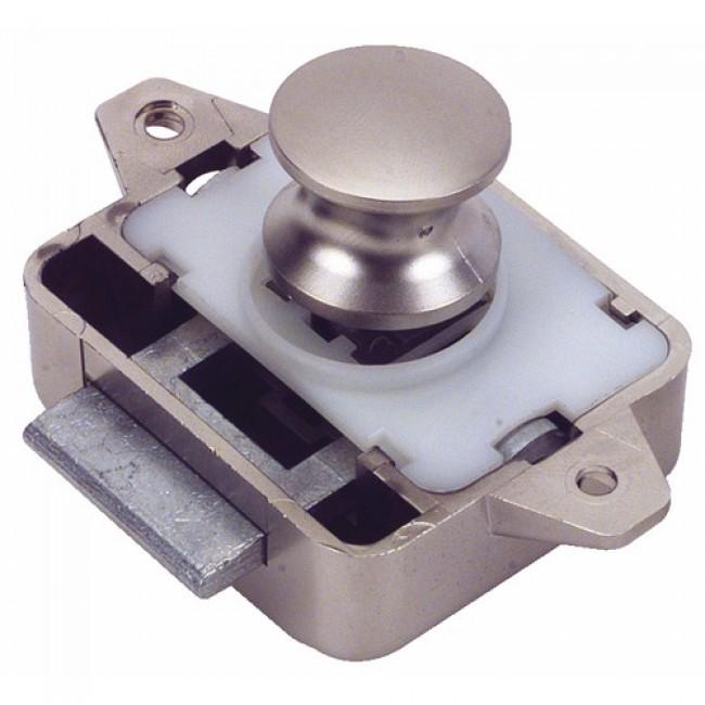 Serrure de meuble à bouton poussoir Push Lock BRICOZOR