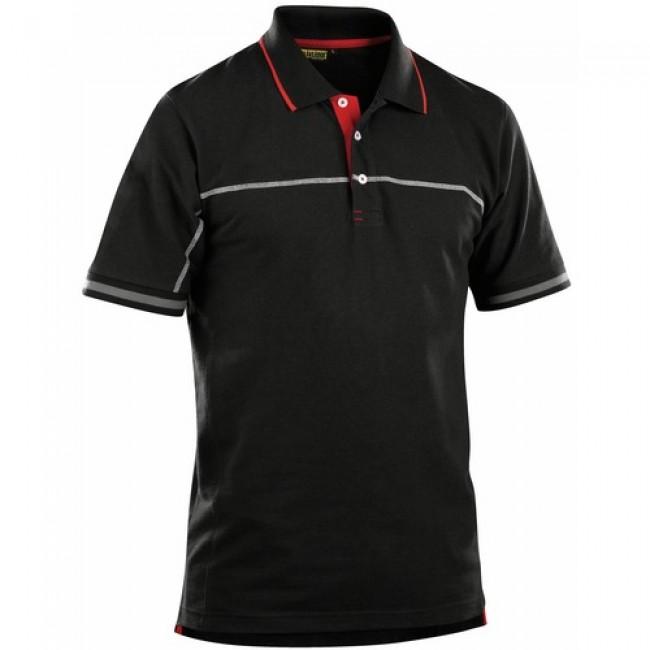 Polo - 60% coton - 40% polyester - piqué - 3389 BLAKLADER