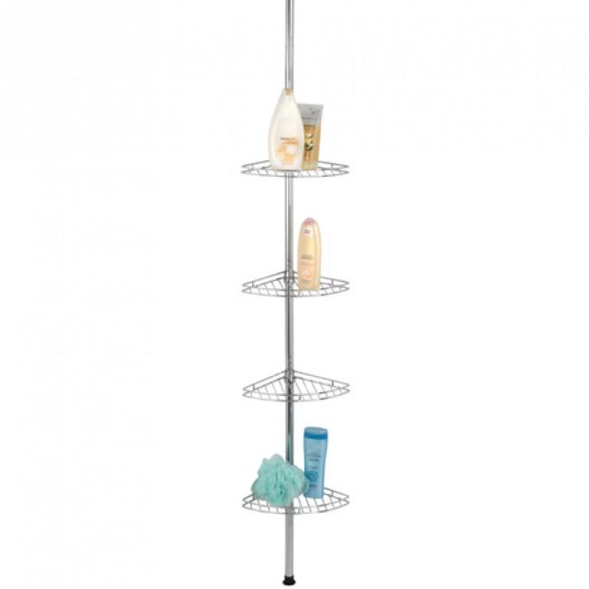 Étagère de douche télescopique pour angle - Prea - 4 paniers WENKO