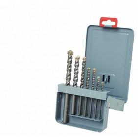 Coffret de 7 forets béton 208D, queue cylindrique, de 4 à 12 mm DIAGER