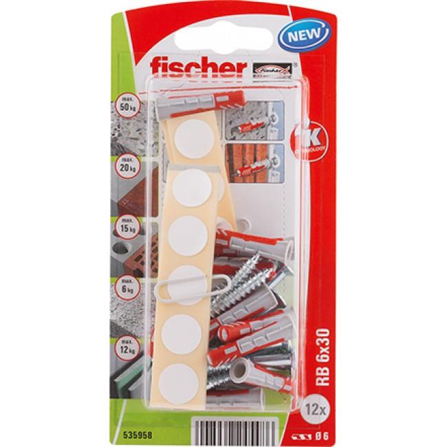 Kit de fixation pour étagères - RB FISCHER