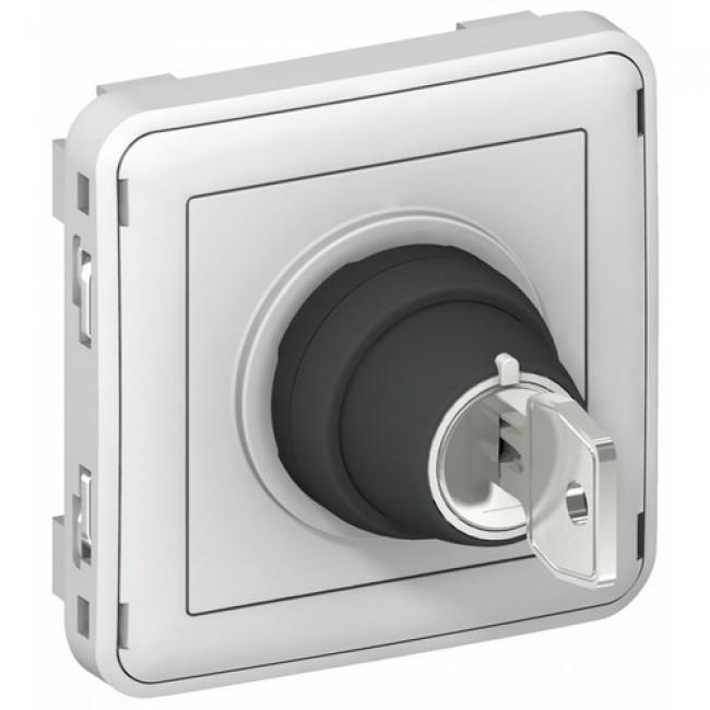 Interrupteur à clé composable étanche - Plexo LEGRAND