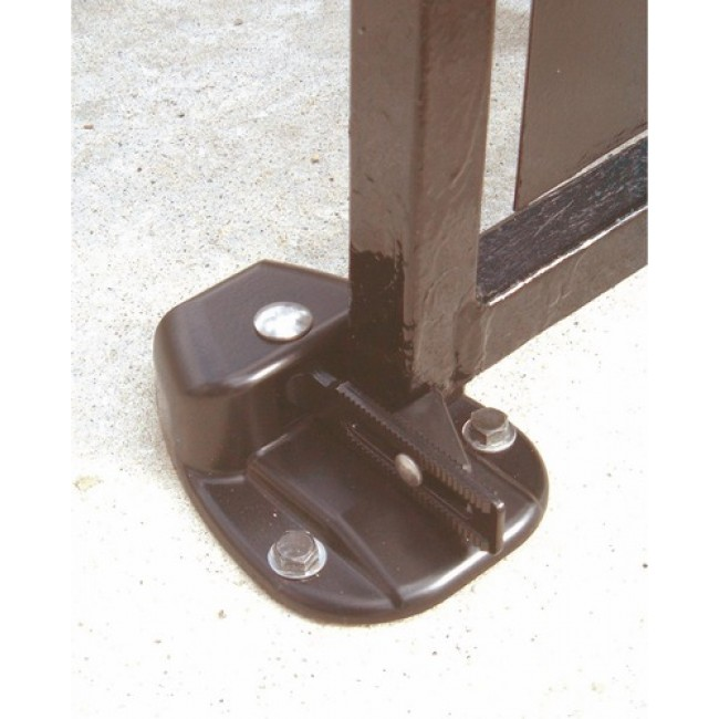 Sabot de portail automatique en composite MONIN