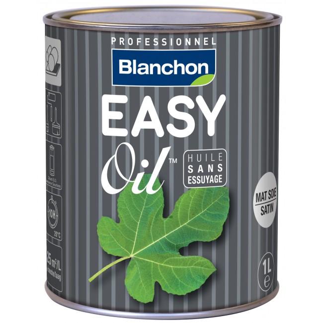 Huile dure incolore - sans essuyage - Easy Oil BLANCHON