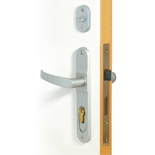 Serrure Keylex Profil à code mécanique, bouton libre passage