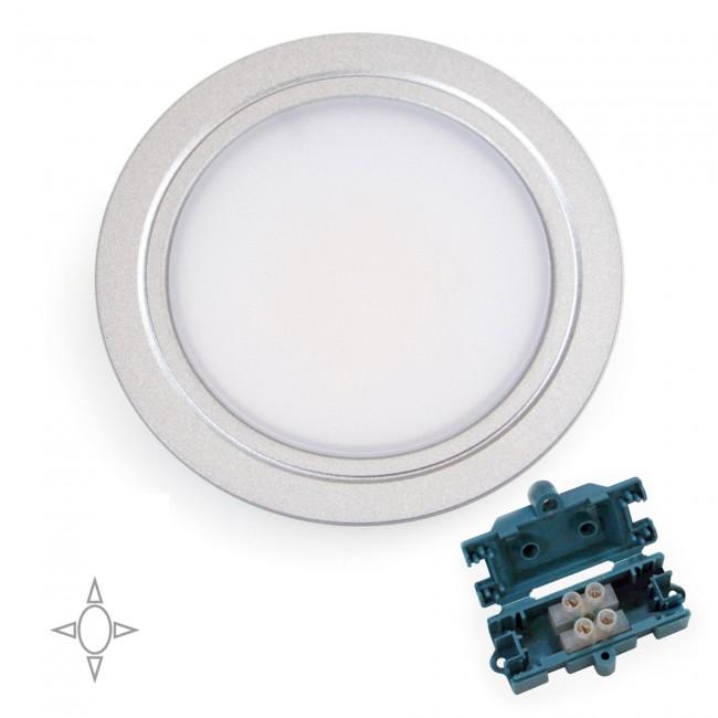 Spot LED à encastrer - lumière blanc naturel EMUCA