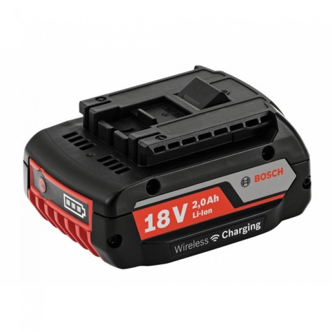 Batterie à induction - Lithium ion - 18 V 2 Ah Bosch - 1600A003NC