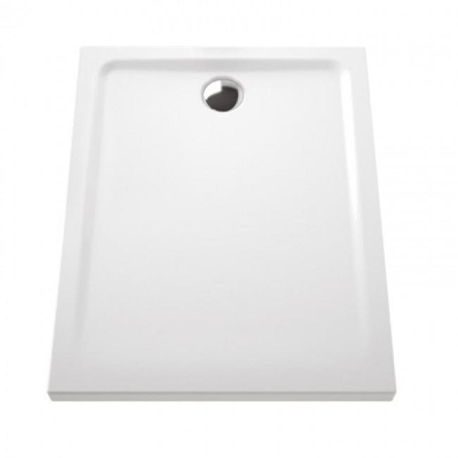 Receveur à poser extra-plat en céramique - 100x80 cm VITRA
