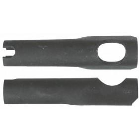 Chevilles métalliques Z-KSP (x100) pour fixation de suspente, acier phosphaté noir RAWL