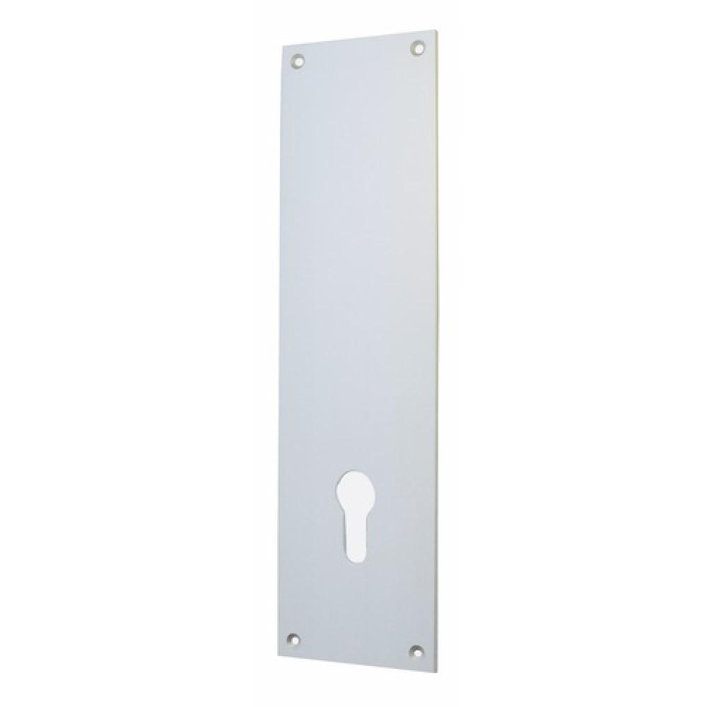 Plaque De Propreté Pour Cylindre Européen En Aluminium Anodisé - Plaque de propreté porte
