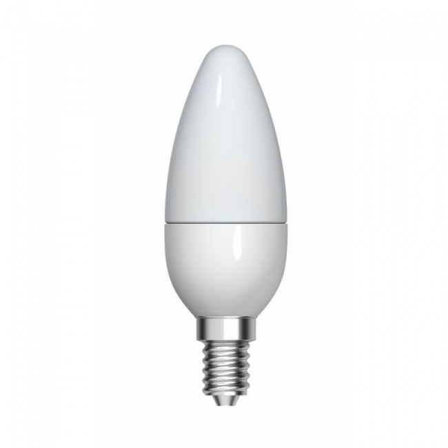 Lampe LED - forme flamme - culot E14 - 4,5 watts - 2700 k - Start GE LIGHTING