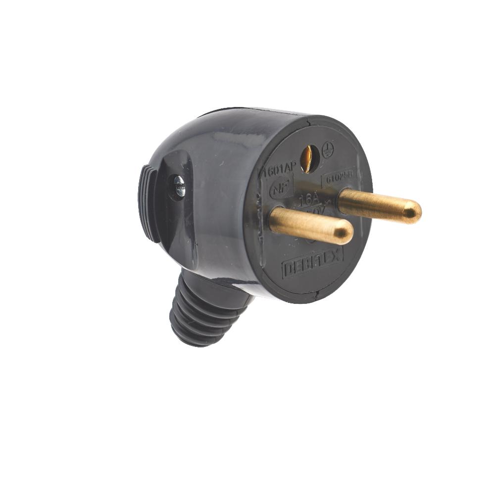 Profil bas en-Ligne torpille Commutateur 2 Amp Utiliser 2 ou 3 Core Flex Elektek-Noir