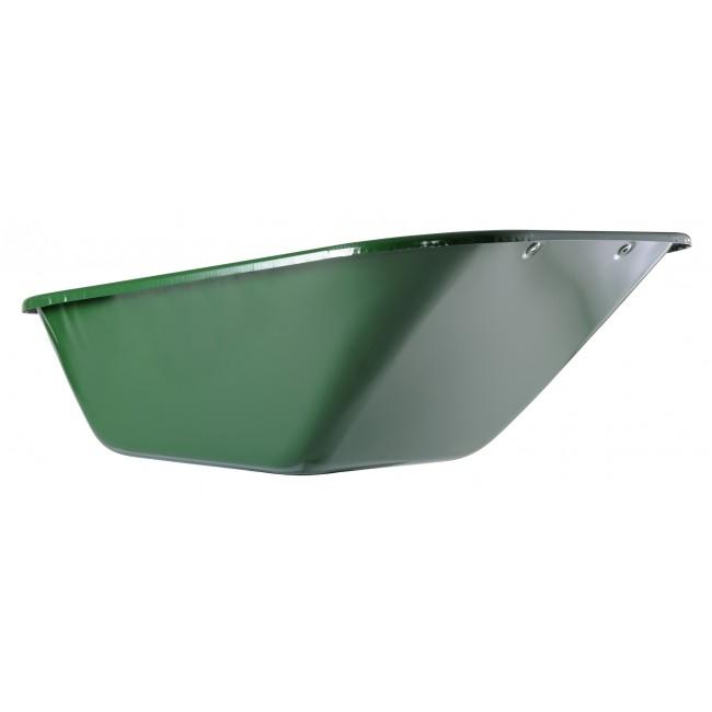 Caisse de brouette 230 L peinte verte pour Expert Twin HAEMMERLIN