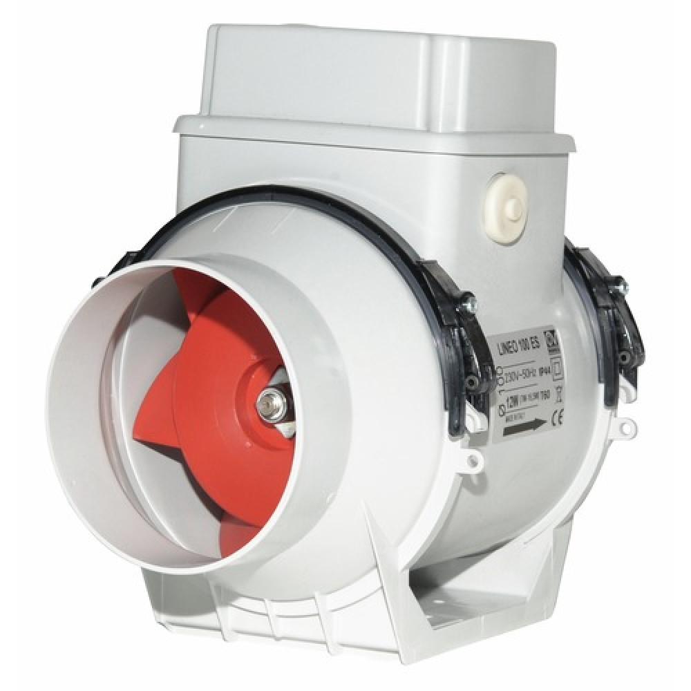 Extracteur d 39 air centrifuge en conduit lineo vortice for Extracteur d air salle de bain