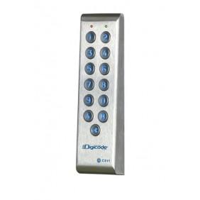 Clavier digicode - inox - étroit - électronique intégrée - PROFIL100 CDVI