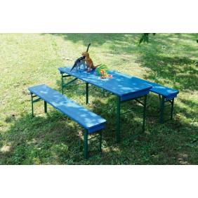 Table pique nique enfant Mini Brasseur bleue