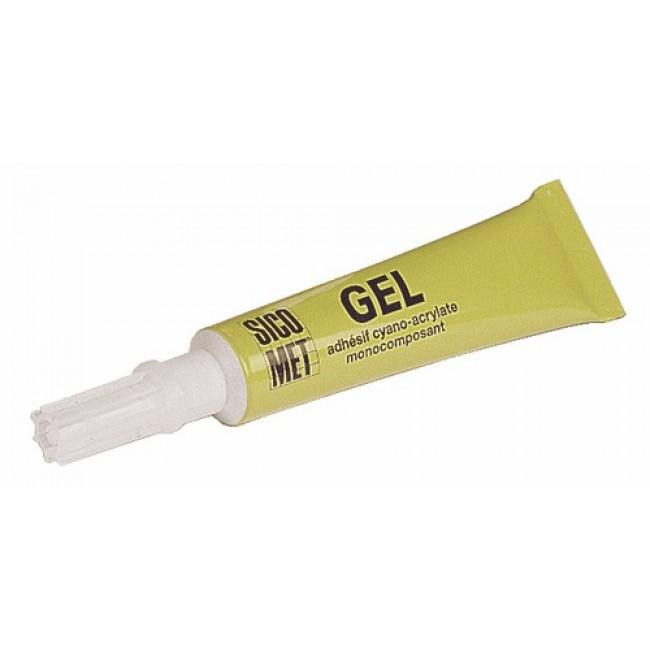 Colle instantanée cyanoacrylate en gel - tube 20 g - SIC 5132 SICOMET