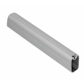 Barre en aluminium et plastique souple pour tube de penderie 30x15 EMUCA