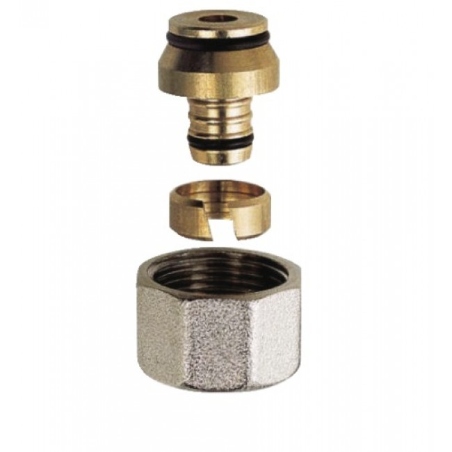 Raccord à compression - Eurocône - pour tube PER RBM