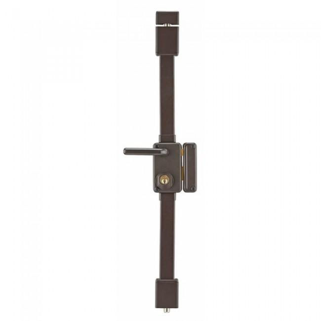 Serrure 3 points en applique à cylindre rond - carré de 7 mm - Beluga FTH THIRARD