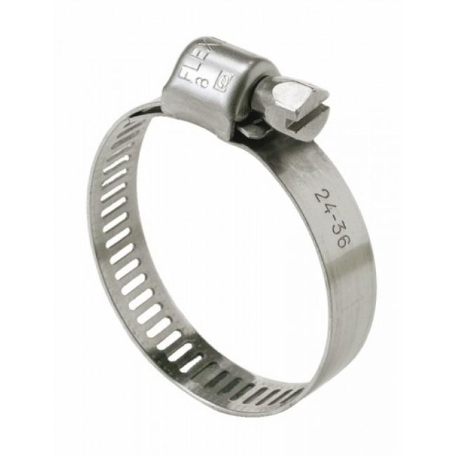 Colliers acier inox W4 - largeur 8 mm - 10 pièces SERFLEX