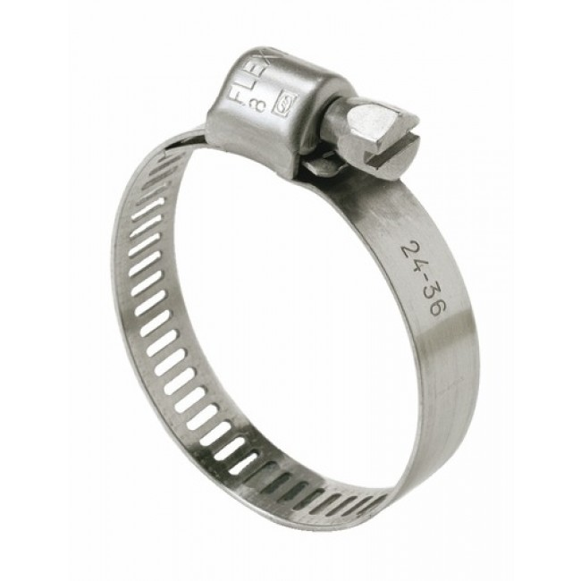 Colliers acier inox W4 largeur 8 mm SERFLEX