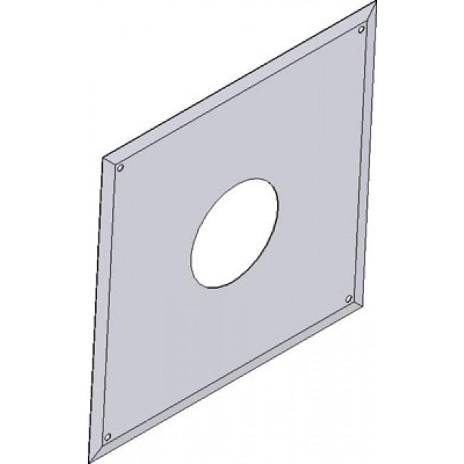 Plaque de connexion simple paroi B23 - diamètre 110 mm TEN