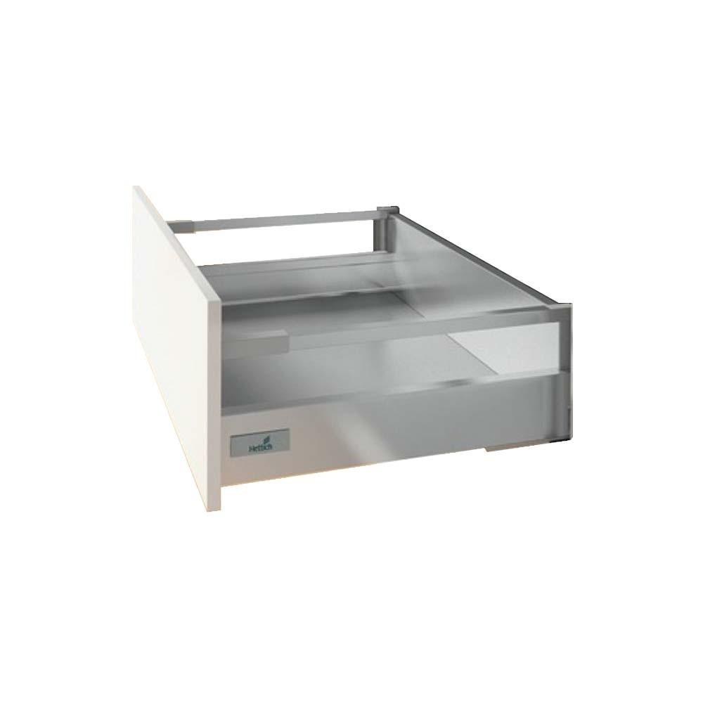 HETTICH Fa/çade /à langlaise standard pr/émont/ée pour tiroir innotech atira hauteur 144