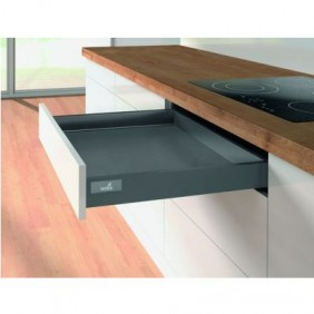 Kit tiroir simple InnoTech Atira-H70mm-Silent System 30 kg-anthracite HETTICH