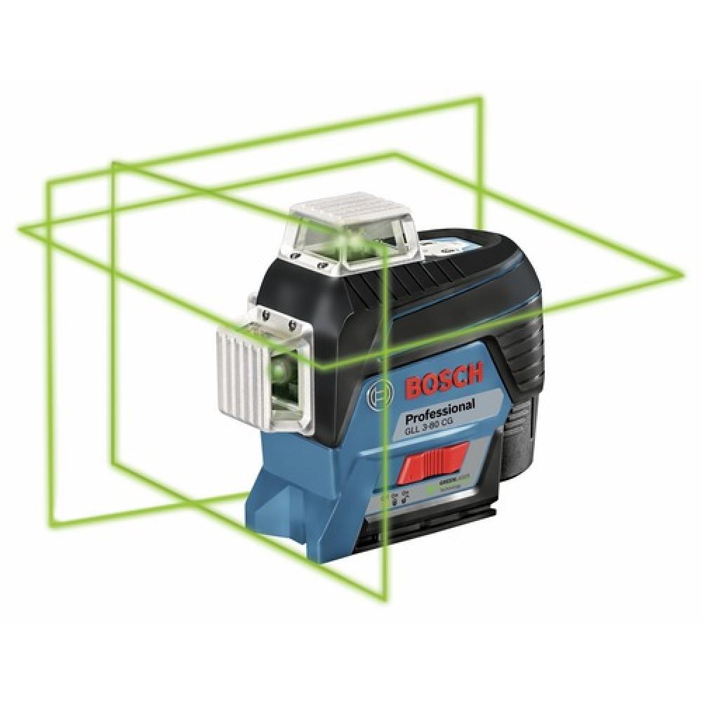 niveau laser intérieur - gll 3-80c + support bm1 bosch | bricozor