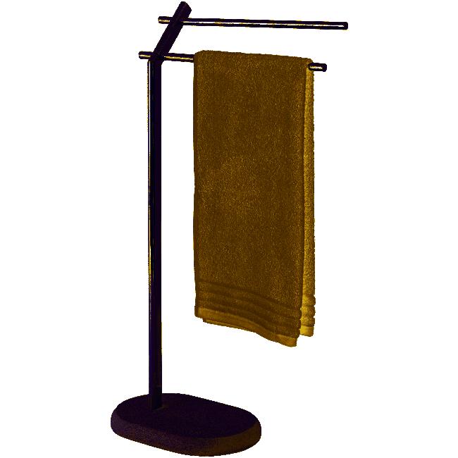 Porte-serviettes à poser - Puro - 2 bras WENKO