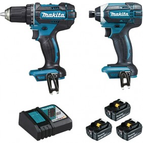 Pack outillage électroportatif - 2 machines - DLX2127TJ1 MAKITA