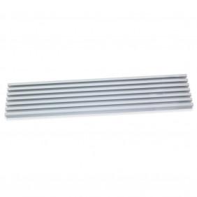 Grille d'aération pour four à encastrer en aluminium anodisé - 600 mm EMUCA