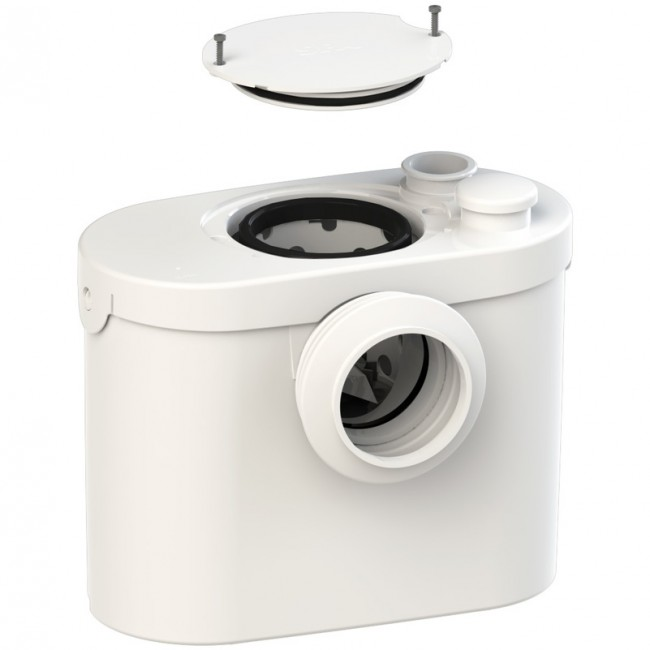 Broyeur wc - silencieux - Sanibroyeur Pro UP SFA