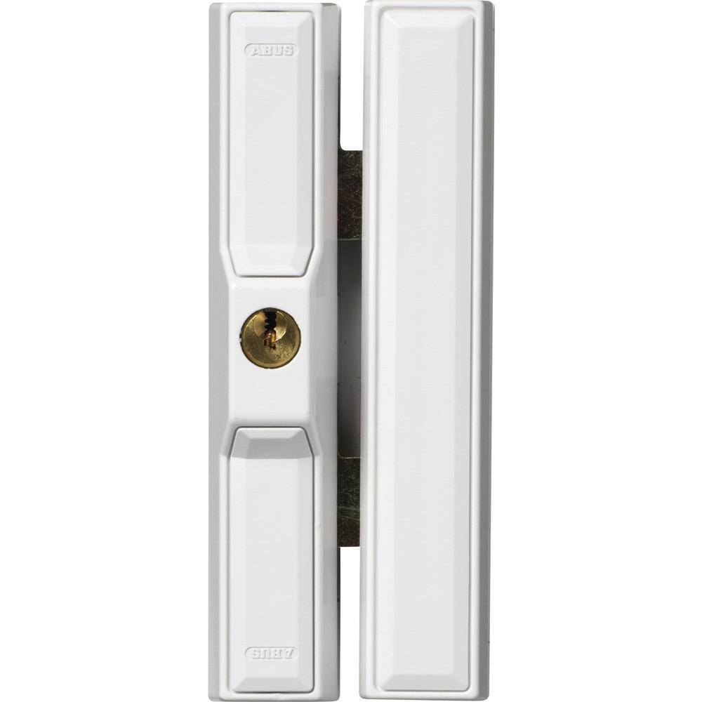 verrou en applique pour baie coulissante blanc fts 88 w ek abus bricozor. Black Bedroom Furniture Sets. Home Design Ideas