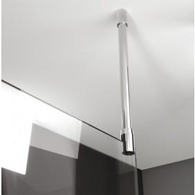 Barre de stabilisation au plafond - pour parois 5-6 et 8 mm LEDA