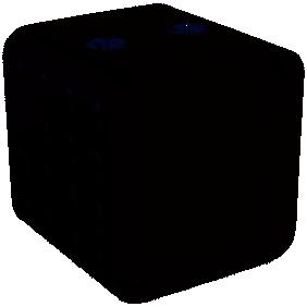 Soufflant céramique - noir - 1500 W CUB DREXON
