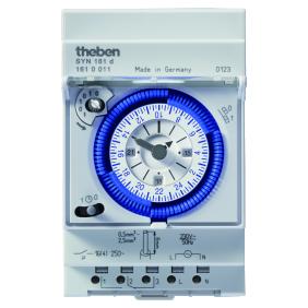 Interrupteur horaire analogique - programmable 1 canal THEBEN