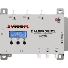 Amplificateur programmable - 32 canaux EVICOM