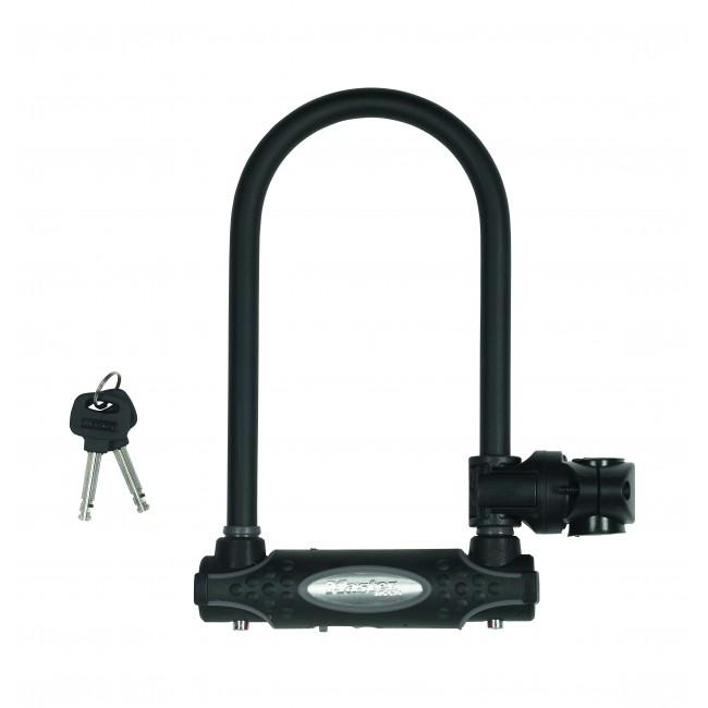 Antivol U certifié - acier cémenté - largeur 11cm - hauteur 21cm MASTER LOCK