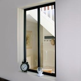 Kit verrière intérieure avec vitrage - 2 panneaux - 108 x 63,2 cm Kit Atelier