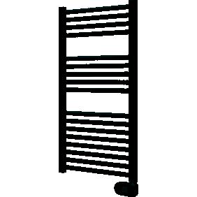 Sèche-serviettes fluide - blanc brillant - 500 W - COBRAM DELONGHI