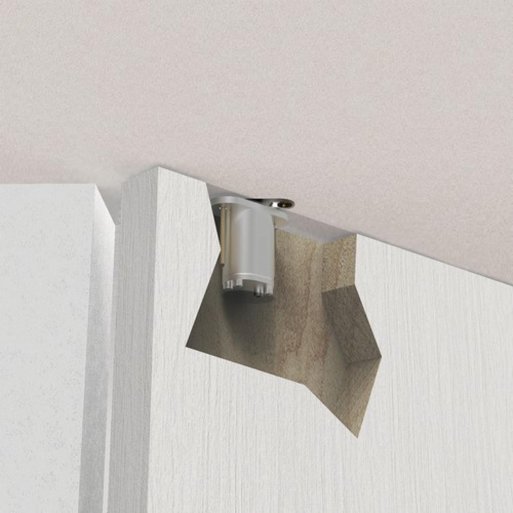 pivot de porte invisible encastrer type pivotica argenta bricozor. Black Bedroom Furniture Sets. Home Design Ideas