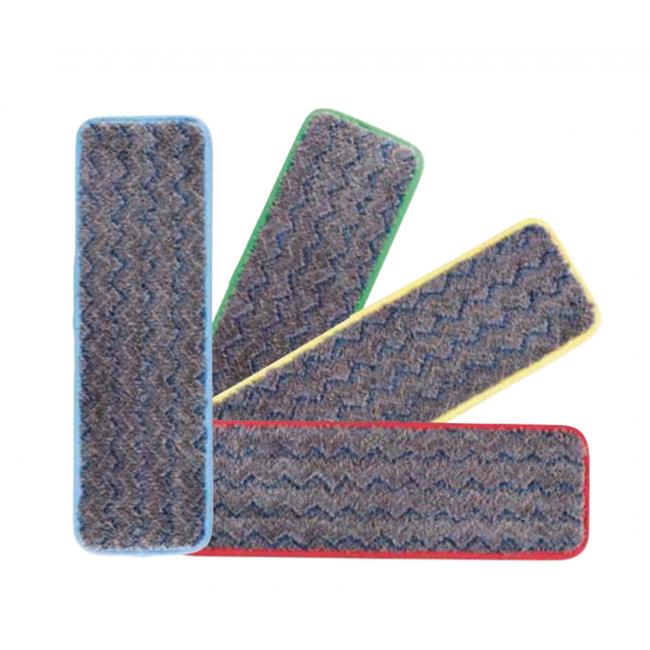 Frange de lavage en microfibre Hygen™ - pour balai Pulse RUBBERMAID