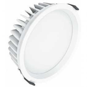 Spot à encastrer - Downlight - LED - aluminium blanc - 25W Ledvance
