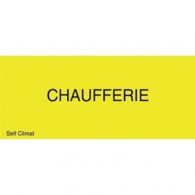"""Panneau réglementaire """"Chaufferie"""" CODITHERM"""