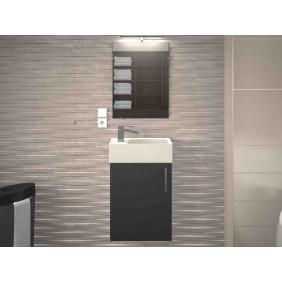 Meuble de salle de bain 40 cm - Kimi - 4 finitions disponibles BAIN ROOM
