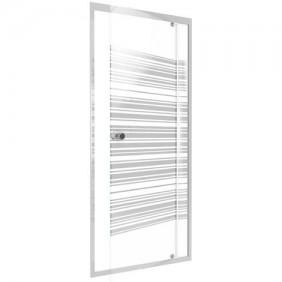 Porte de douche - pivotante - Pure Line - différentes dimensions AURLANE
